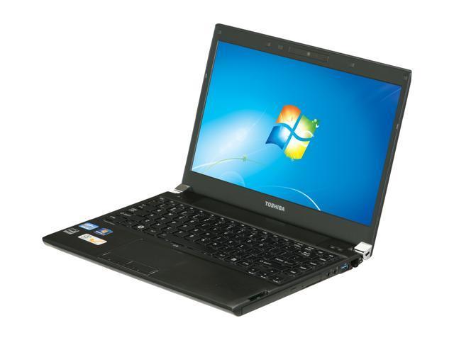 "TOSHIBA Laptop Portege R835-P88 Intel Core i5 2450M (2.50 GHz) 6 GB Memory 640GB HDD Intel HD Graphics 13.3"" Windows 7 Home ..."