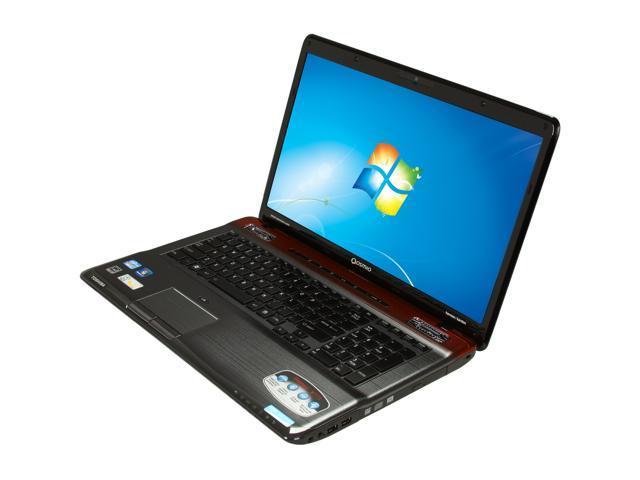 TOSHIBA Laptop Qosmio X775-Q7170 Intel Core i5 2450M (2.50 GHz) 6 GB Memory 640GB HDD NVIDIA GeForce GTX 560M Switches Graphics 17.3