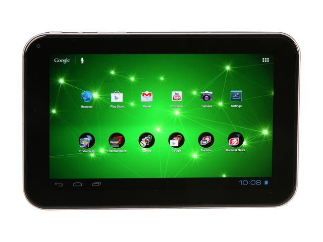 TOSHIBA Excite 7.7 AT275-T32 NVIDIA Tegra 3 1.40 GHz 1 GB Memory 7.7