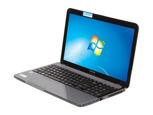 "TOSHIBA Satellite L855-S5255 15.6"" Windows 7 Home Premium 64-Bit Laptop"