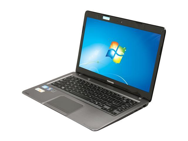"TOSHIBA Satellite U845-S402 Intel Core i3 4 GB Memory 500 GB HDD 16 GB SSD 14"" Ultrabook Windows 7 Home Premium 64-Bit"