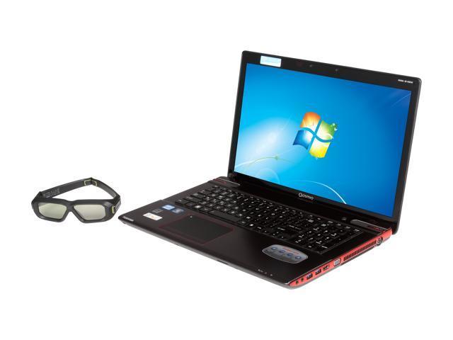 "TOSHIBA Qosmio X875-Q7290 17.3"" Windows 7 Home Premium 64-Bit Laptop"