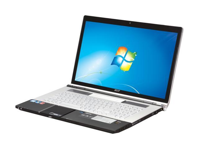 Acer Laptop Aspire AS8950G-9839 Intel Core i7 2630QM (2.00 GHz) 8 GB Memory 750 GB HDD AMD Radeon HD 6850M 18.4
