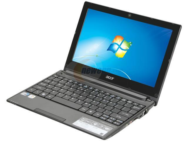 "Acer Aspire One AOD255E-1643 Diamond Black 10.1"" WSVGA Netbook"