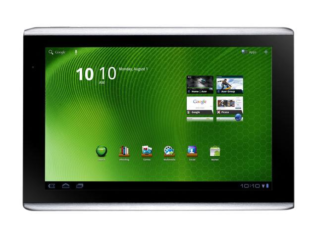 Acer Iconia Tab A500-10S32u NVIDIA Tegra 2 1.00GHz 10.1
