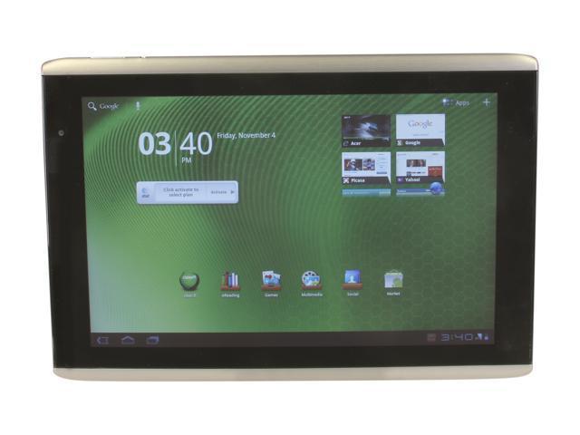 "Acer Iconia Tab A501-10S16u 16GB Flash 10.0"" Tablet"