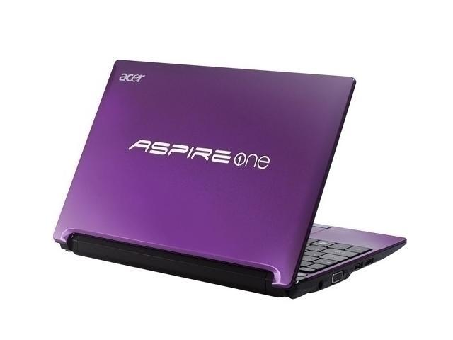 Acer Aspire One AOD260-2380 Purple Intel Atom N450(1.66 GHz) 10.1