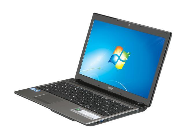 Acer Laptop Aspire AS5750-9851 Intel Core i7 2630QM (2.00 GHz) 4 GB Memory 640GB HDD Intel HD Graphics 3000 15.6