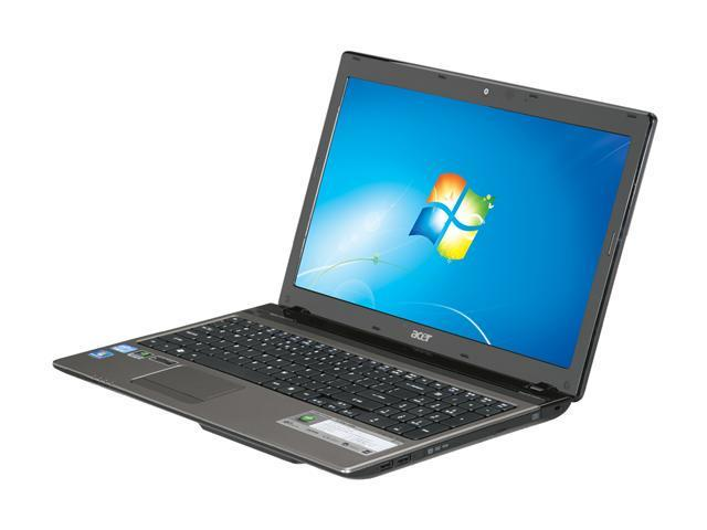 """Acer Laptop Aspire AS5750G-6496 Intel Core i5 2410M (2.30 GHz) 4 GB Memory 500 GB HDD NVIDIA GeForce GT 540M 15.6"""" Windows ..."""