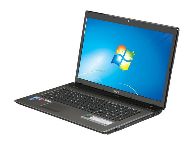 Acer Laptop Aspire AS7750G-9657 Intel Core i7 2630QM (2.00 GHz) 6 GB Memory 750 GB HDD AMD Radeon HD 6650M 17.3