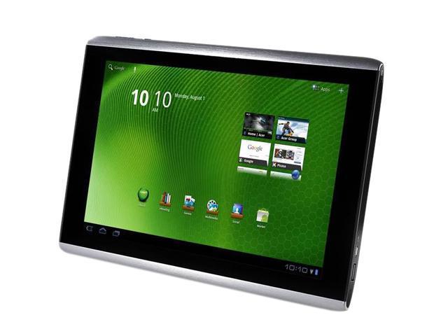 Acer Iconia Tab A500-10S16u NVIDIA Tegra 2 1GB DDR2 Memory 16GB Flash 10.1