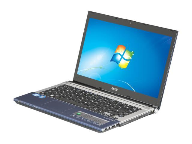 Acer Laptop Aspire TimelineX AS4830T-6402 Intel Core i3 2nd Gen 2330M (2.20 GHz) 4 GB Memory 500 GB HDD Intel HD Graphics 3000 14.0