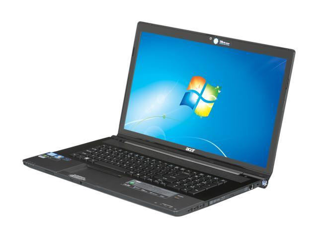 Acer Laptop Aspire AS8951G-9630 Intel Core i7 2670QM (2.20 GHz) 8 GB Memory 750 GB HDD NVIDIA GeForce GT 555M 18.4