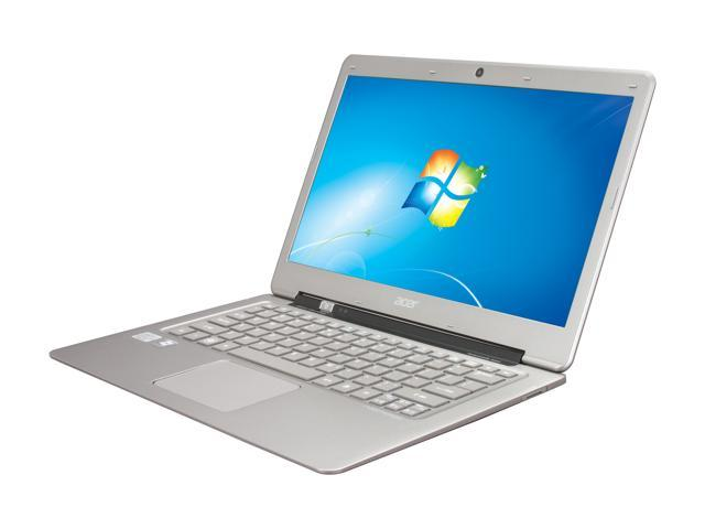 "Acer Aspire S3-951-6646 Intel Core i5 4GB on-board memory Memory 320 GB HDD 20 GB SSD 13.3"" Ultrabook Windows 7 Home Premium ..."