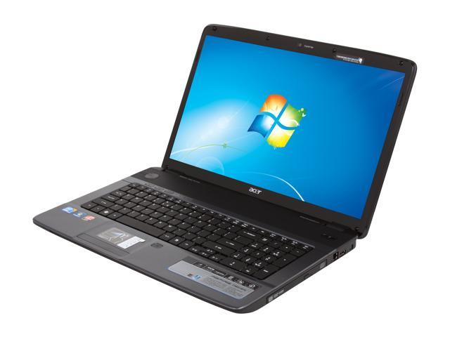 Acer Laptop Aspire AS7740G-6816 Intel Core i5 1st Gen 480M (2.66 GHz) 4 GB Memory 500 GB HDD ATI Mobility Radeon HD 5470 17.3