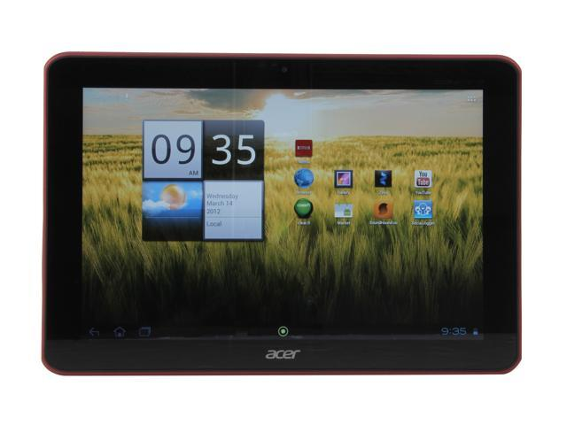 Acer Iconia Tab A200-10r08u NVIDIA Tegra 2 1 GB Memory 8GB EMMC 10.1