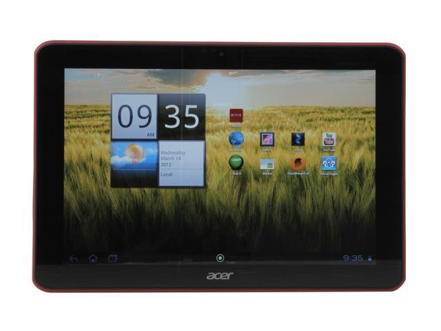 "Acer Iconia Tab A200-10r08u 8GB EMMC 10.1"" Tablet PC - Red"