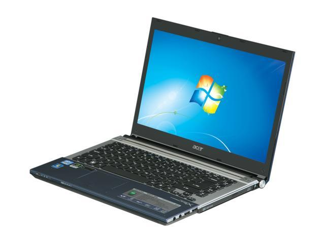 Acer Laptop Aspire AS4830TG-6808 Intel Core i5 2450M (2.50 GHz) 4 GB Memory 500 GB HDD NVIDIA GeForce GT 540M 14.0