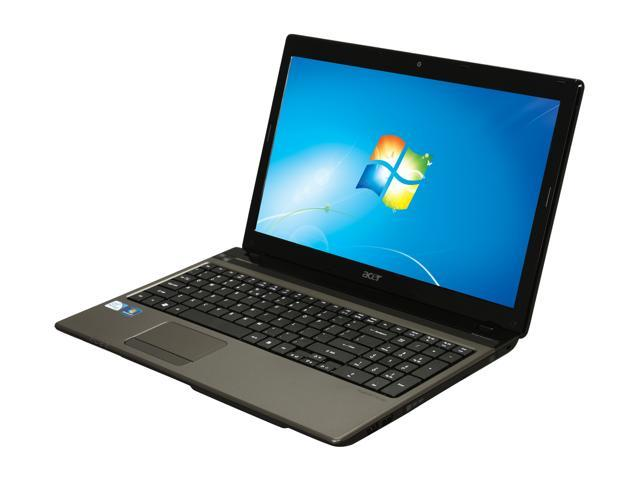 Acer Laptop Aspire AS5750Z-4835 Intel Pentium B940 (2.00 GHz) 4 GB Memory 500 GB HDD Intel HD Graphics 15.6