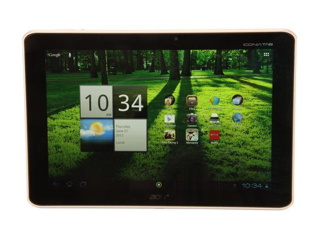 "Acer Iconia Tab A Series A700-10s32u 32 GB 10.1"" Tablet PC"