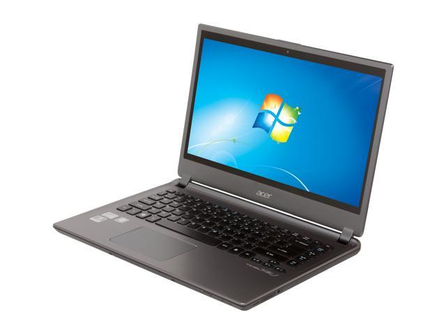 "Acer Aspire TimelineU M5-481TG-6814 Intel Core i5 4 GB Memory 500 GB HDD 20 GB SSD 14"" Ultrabook Windows 7 Home Premium 64-Bit"