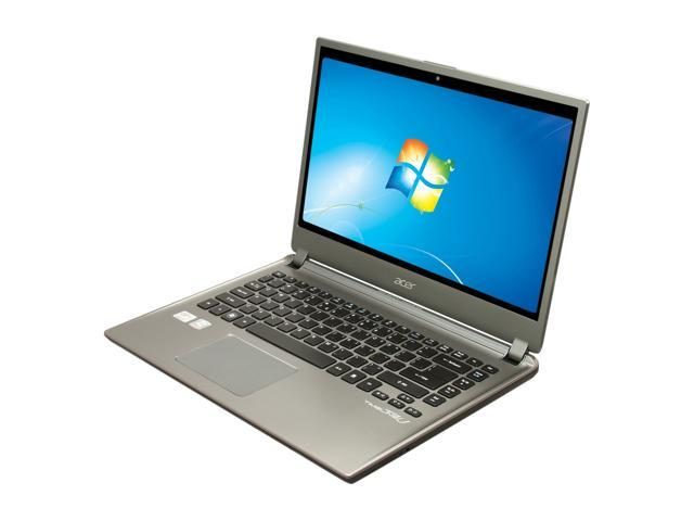 "Acer Aspire TimelineU M5-481T-6642 Intel Core i5 4 GB Memory 500 GB HDD 20 GB SSD 14"" Ultrabook Windows 7 Home Premium 64-Bit"