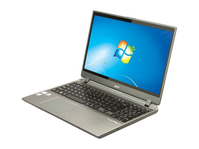 "Acer Aspire TimelineU M5-581TG-6666 Intel Core i5 6 GB Memory 500 GB HDD 20 GB SSD 15.6"" Ultrabook Windows 7 Home Premium ..."