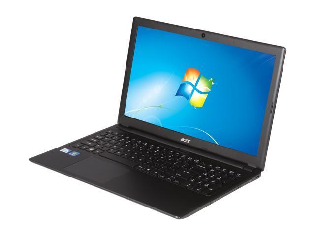 "Acer Laptop Aspire V5-531-4636 Intel Pentium 967 (1.30 GHz) 4 GB Memory 500 GB HDD Intel HD Graphics 15.6"" Windows 7 Home ..."