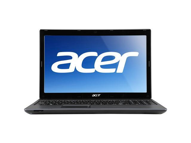 "Acer Laptop Aspire Intel Celeron 1.60 GHz 4 GB Memory 320 GB HDD 15.6"" Windows 7 Home Premium"