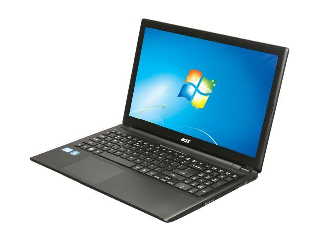 Acer Laptop Aspire V5-571-6681 Intel Core i3 2367M (1.40 GHz) 6 GB Memory 500 GB HDD Intel HD Graphics 15.6