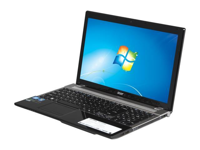 Acer Laptop Aspire V3-571G-6443 Intel Core i3 2370M (2.40 GHz) 4 GB Memory 500 GB HDD NVIDIA GeForce GT 630M 15.6