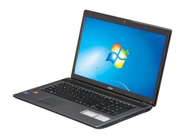 "Acer Laptop Aspire AS7250-3821 AMD Dual-Core Processor E-450 (1.65 GHz) 4 GB Memory 500 GB HDD AMD Radeon HD 6320 17.3"" Windows ..."