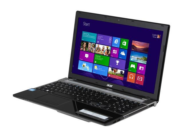 Acer Laptop Aspire V3-571-6698 Intel Core i5 3rd Gen 3210M (2.50 GHz) 6 GB Memory 750 GB HDD Intel HD Graphics 4000 15.6