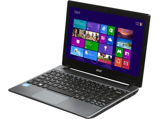 Acer Laptop Aspire V5-171-6471 Intel Core i5 3337U (1.80 GHz) 6 GB Memory 500 GB HDD Intel HD Graphics 4000 11.6