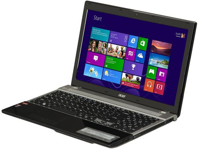 Acer Aspire V3-551G-X419 Gaming Laptop AMD A-Series A10-4600M (2.30 GHz) 6 GB Memory 750 GB HDD AMD Radeon HD 7670M 2 GB 15.6