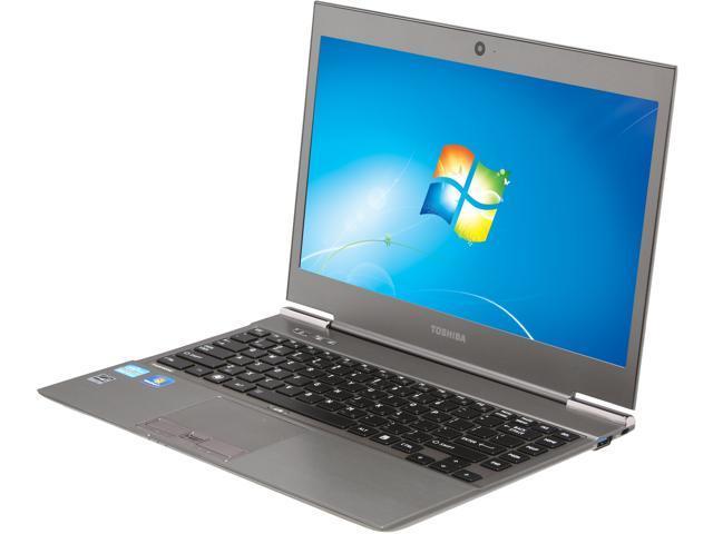 "TOSHIBA Portege PT225U-01S004 Intel Core i7 8GB Memory 128GB SSD 13.3"" Ultrabook Windows 7 Professional"