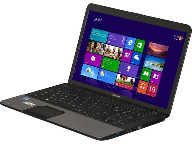 "TOSHIBA Laptop Satellite C875-S7132NR Intel Core i3 3120M (2.50 GHz) 6 GB Memory 640GB HDD Intel HD Graphics 4000 17.3"" Windows ..."