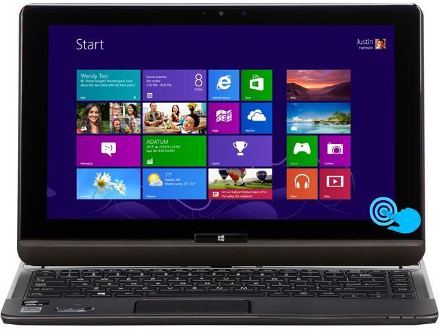 "TOSHIBA Satellite U925t-S2120 Intel Core i5 4 GB Memory 128 GB SSD 12.5"" Touchscreen Convertible Ultrabook Windows 8"