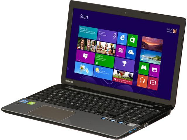 "TOSHIBA Laptop Satellite L55-A5278 Intel Core i5 3337U (1.80 GHz) 4 GB Memory 500 GB HDD NVIDIA GeForce GT 740M 15.6"" Windows ..."