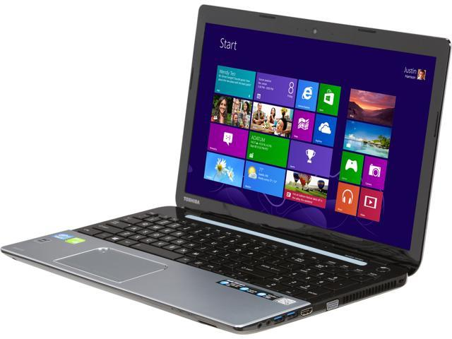 TOSHIBA Laptop Satellite S55-A5274 Intel Core i5 3337U (1.80 GHz) 6 GB Memory 750 GB HDD NVIDIA GeForce GT 740M 15.6