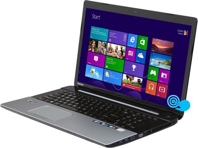 TOSHIBA Laptop Satellite S75D-A7272 AMD A10-Series A10-5750M (2.50 GHz) 8 GB Memory 1 TB HDD AMD Radeon HD 8650G 17.3