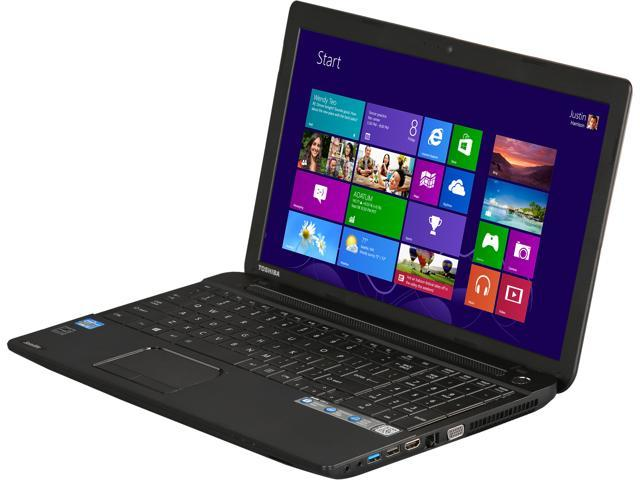 TOSHIBA Laptop Satellite C55-A5354 Intel Core i3 3120M (2.50 GHz) 6 GB Memory 500 GB HDD Intel HD Graphics 4000 15.6