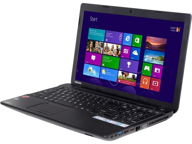 TOSHIBA Laptop Satellite C55D-A5146 AMD A4-Series A4-5000 (1.50 GHz) 4 GB Memory 500 GB HDD AMD Radeon HD 8330 15.6