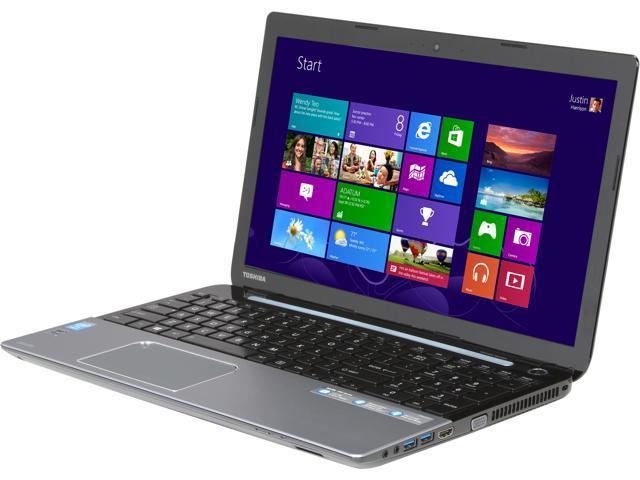 TOSHIBA Laptop S55-A5154 Intel Core i7 4700MQ (2.40 GHz) 8 GB Memory 1 TB HDD Intel HD Graphics 4600 15.6