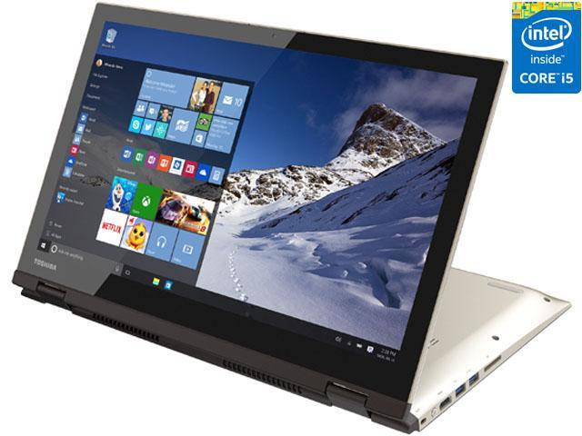 TOSHIBA Satellite Fusion L55W-C5259 Laptop Intel Core i5-5200U (2.20 GHz) 8 GB Memory 128 GB SSD Intel HD Graphics 5500 Shared memory 15.6