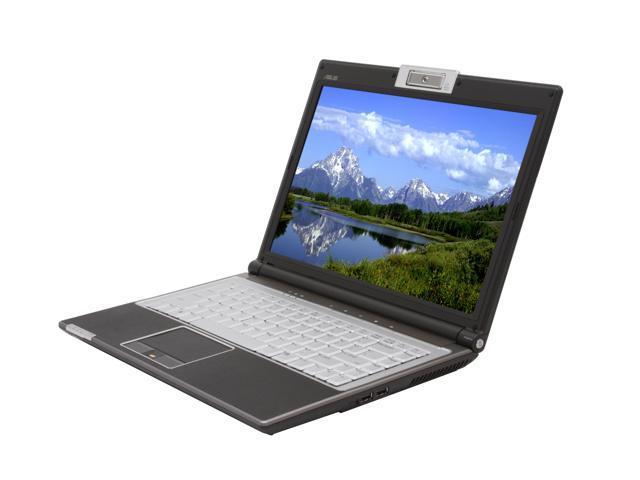 "ASUS Laptop F8 Series F8P-X2B Intel Core 2 Duo T8100 (2.10 GHz) 3 GB Memory 250 GB HDD ATI Mobility Radeon HD 2400 14.0"" ..."
