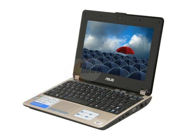 """ASUS N10 Series N10E-A1 10.2"""" Windows XP Home Laptop"""