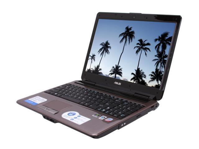 "ASUS Laptop N50 Series N50Vn-B1B Intel Core 2 Duo P8600 (2.40 GHz) 4 GB Memory 320 GB HDD NVIDIA GeForce 9650M GT 15.4"" Windows ..."