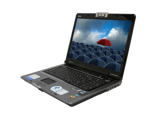 """ASUS Laptop M70 Series M70VN-X1 Intel Core 2 Duo T9400 (2.53 GHz) 4 GB Memory 320 GB HDD NVIDIA GeForce 9650M GT 17.0"""" Windows ..."""