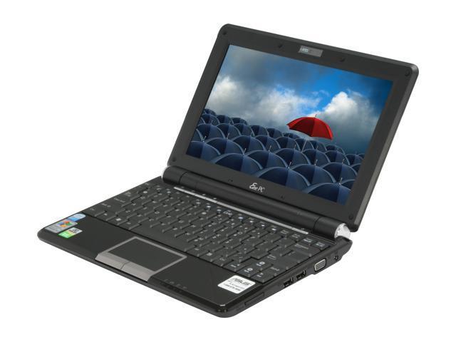 ASUS Eee PC EPC1000HA-BLK001X Black Intel Atom N270(1.60 GHz) 10.0